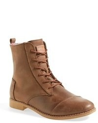 Brown lace up ankle boots original 9286370