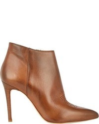 Barneys New York Carey Ankle Boots Tan Size 5