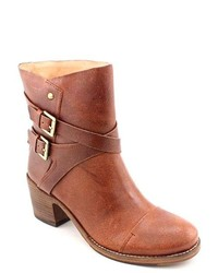Belle Sigerson Morrison Ashlin Brown Leather Fashion Ankle Boots