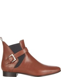 Miu Miu Buckle Strap Ankle Boots
