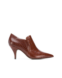 a302912108e5 Women s Brown Leather Ankle Boots by Tory Burch