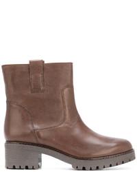 Pull tab ankle boots medium 5205724