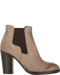 Barneys New York Round Toe Ankle Boots
