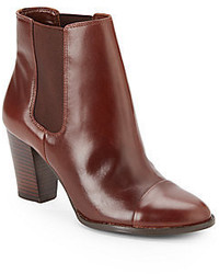 Saks Fifth Avenue Sloane Leather Ankle Boots