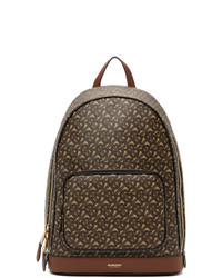 Burberry Brown E Canvas Monogram Rocco Backpack