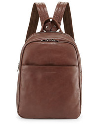 Calf leather backpack brown medium 678269