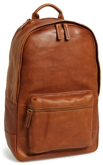 Fossil Ledge Leather Backpack | Where to buy & how to wear