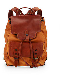 Frye Tracy Leather Backpack