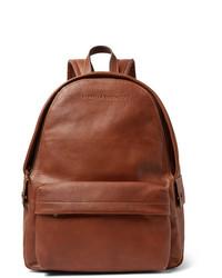Brunello Cucinelli Full Grain Leather Backpack