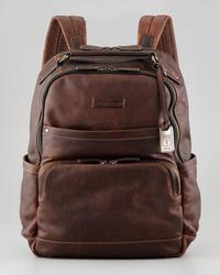 Logan leather backpack medium 7042