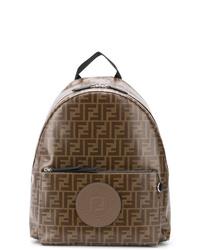 Fendi Logo Backpack
