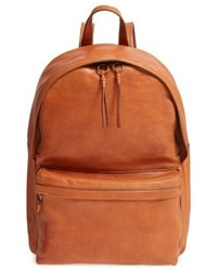 Lorimer leather backpack brown medium 4950317