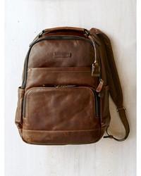 Pendleton Leather Logan Backpack