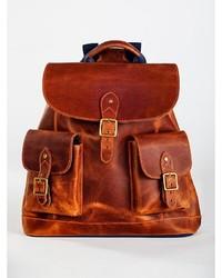 Pendleton Leather Rucksack