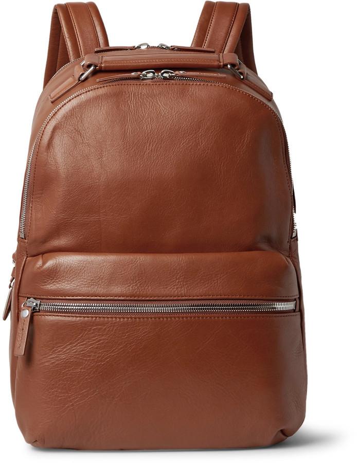 Shinola The Runwell Full Grain Leather Backpack | Where to buy ...