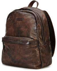 Frye Tyler Rugged Leather Backpack Gray | Where to buy & how to wear