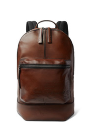 Berluti Volume Large Leather Backpack