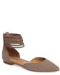 Lucky Brand Madoz Ankle Strap Flat