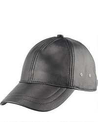 Wilsons Leather Lamb Baseball Cap Black