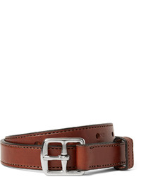Yuketen 25cm Brown Leather Belt