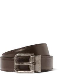 Dolce & Gabbana 25cm Brown Leather Belt