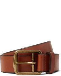 Polo Ralph Lauren 35cm Brown Leather Belt