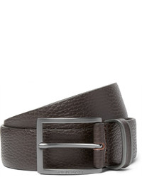 Hugo Boss 35cm Brown Sopprin Full Grain Leather Belt
