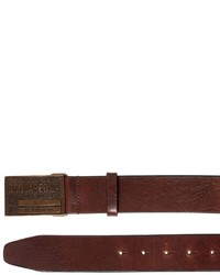 DSQUARED2 40mm Leather Belt W Logo Buckle