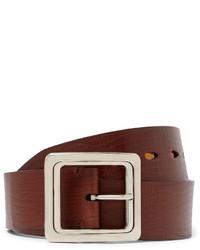 Tom Ford 4cm Brown Leather Belt