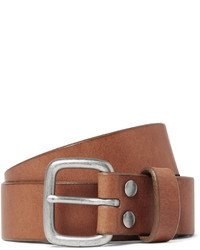 J.Crew 5cm Brown Brody Leather Belt