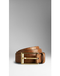 Burberry Alligator Leather Belt