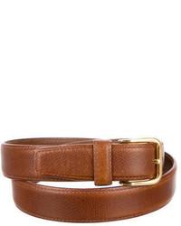 Battistoni Grained Leather Belt
