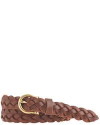 J.Crew Braided Leather Belt