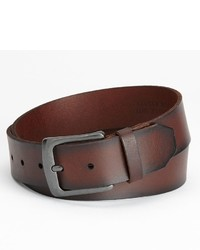 Levi's Bridle Riveted Buckle Leather Belt