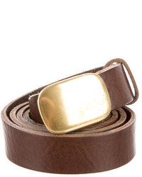 rag & bone Brown Leather Belt