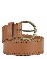 Twin-Set Brown Leather Belt