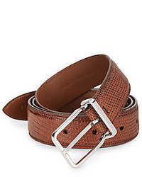 Brunello Cucinelli Embossed Leather Belt