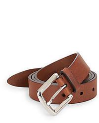 Brunello Cucinelli Pebbled Leather Belt