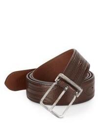 Brunello Cucinelli Stitched Leather Belt