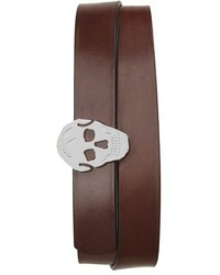 Alexander McQueen Calfskin Leather Belt