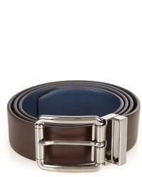 Tod's Contrast Leather Belt