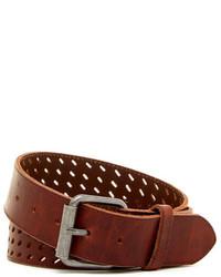 Bill Adler Dash Perforated Leather Belt
