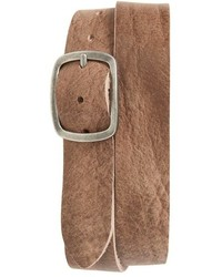 Topman Distressed Leather Belt