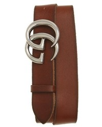 Gucci Distressed Leather Belt