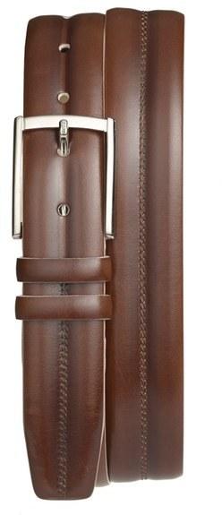 Mezlan Diver Leather Belt
