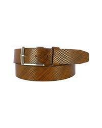 Remo Tulliani Dodge Embossed Leather Belt