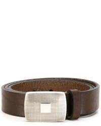 Eleventy Buckled Belt