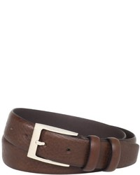 Florsheim Italian Full Grain Leather Feather Edge 32mm Belt