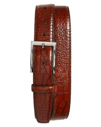 Torino Belts Gator Embossed Leather Belt
