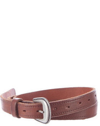Golden Goose Deluxe Brand Golden Goose Leather Waist Belt